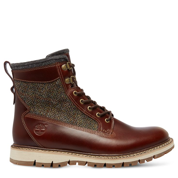 Timberland - Britton Hill 6-Inch Warm Lined Leather et Fabric Boot Homme