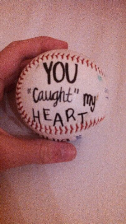 write on a softballball
