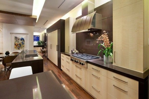 Vietnamese visualizations classic elegance Eastern and Western periods bamboo luxurious kitchen modern
