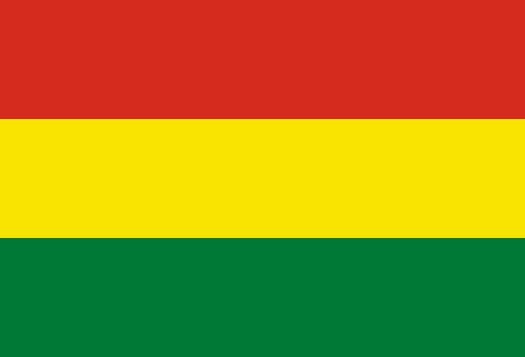 Flag of Bolivia - Bandeiras da América do Sul – Wikipédia, a enciclopédia livre
