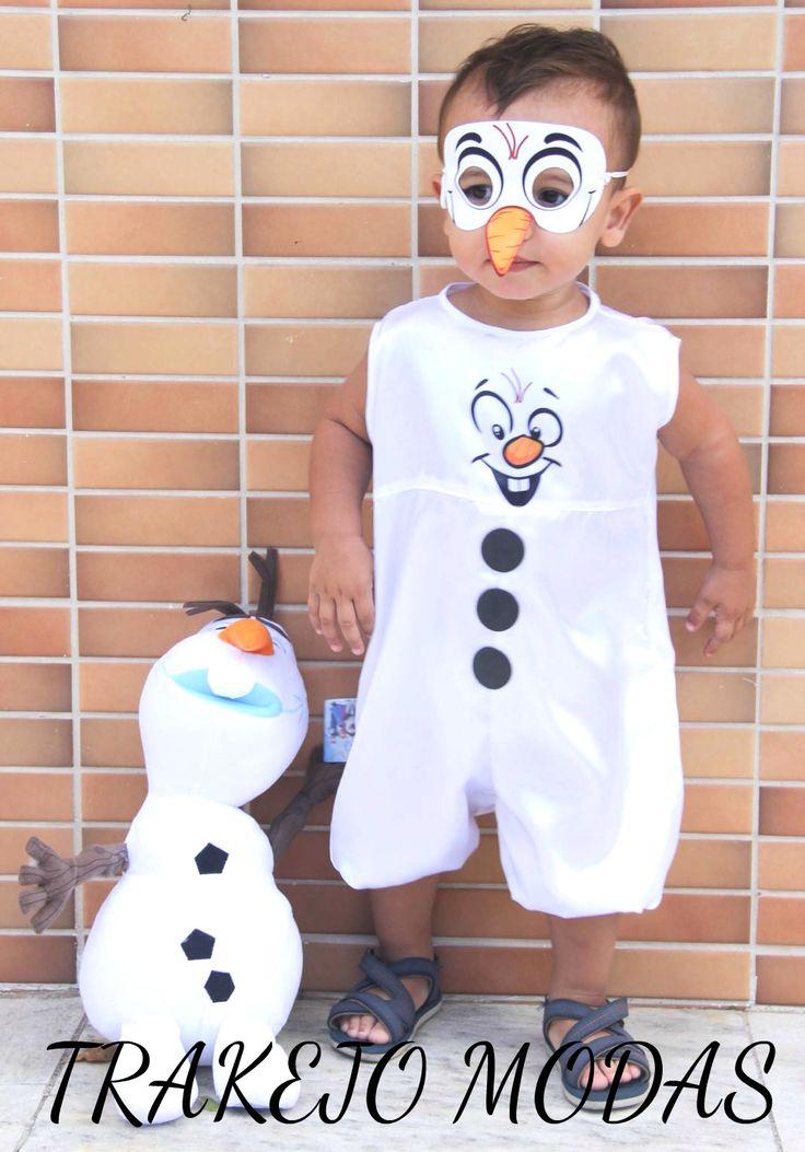 Fantasia Olaf Frozen Menino Tamanho de 2 a 6 #FantasiaOlaf #FantasiaOlafFrozen #RoupaOlaf #RoupaOlafFrozen #Olaf #OlafFrozen #FantasiaDisney #FestaInfantil #FestaFrozen #AniversárioInfantil #AniversárioFrozen