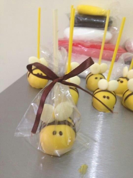 Bumble Bee Cakepops