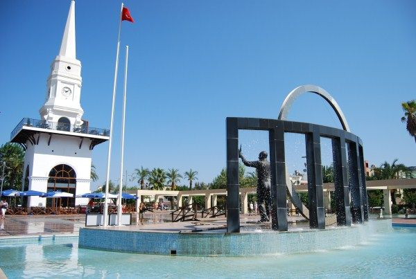 The town centre in Kemer, Turkey