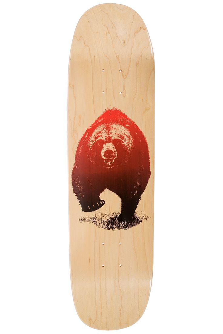 "Grizzly Skies 8.375"" Deck (natural)"