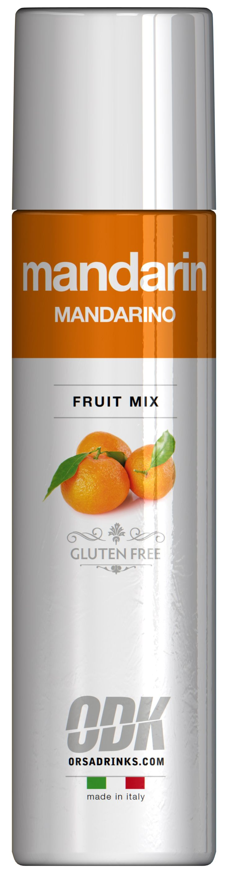 Mandarin fruit puree by ODK available at Granikal