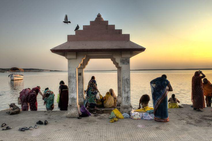 tramonto a Somnath
