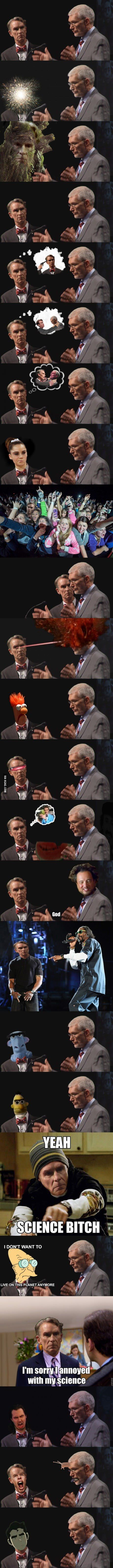 The many iterations of Bill Nye