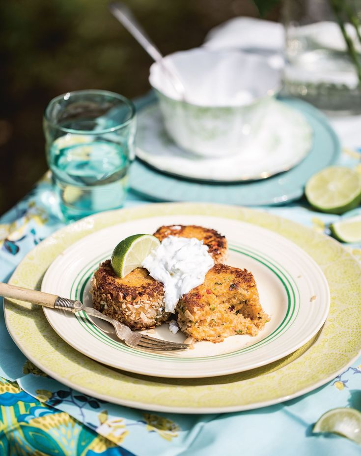 Quinoa and butternut squash cakes recipe from Three Sisters Bake by Gillian Reith | Cooked