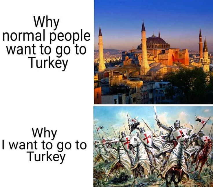 Deus Vult turkroaches! <<Reposted just for that
