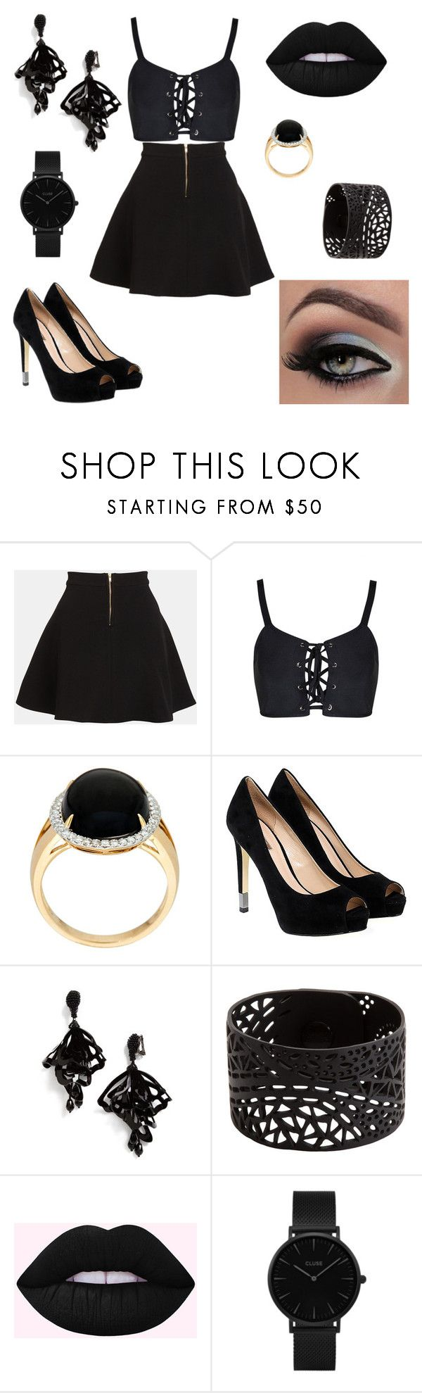 """"" by hollycat771 ❤ liked on Polyvore featuring Parker, GUESS, Oscar de la Renta and CLUSE"