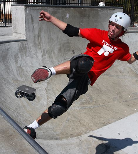 Freeline Skates: The Offspring Of Skates And Skateboards  ... see more at InventorSpot.com