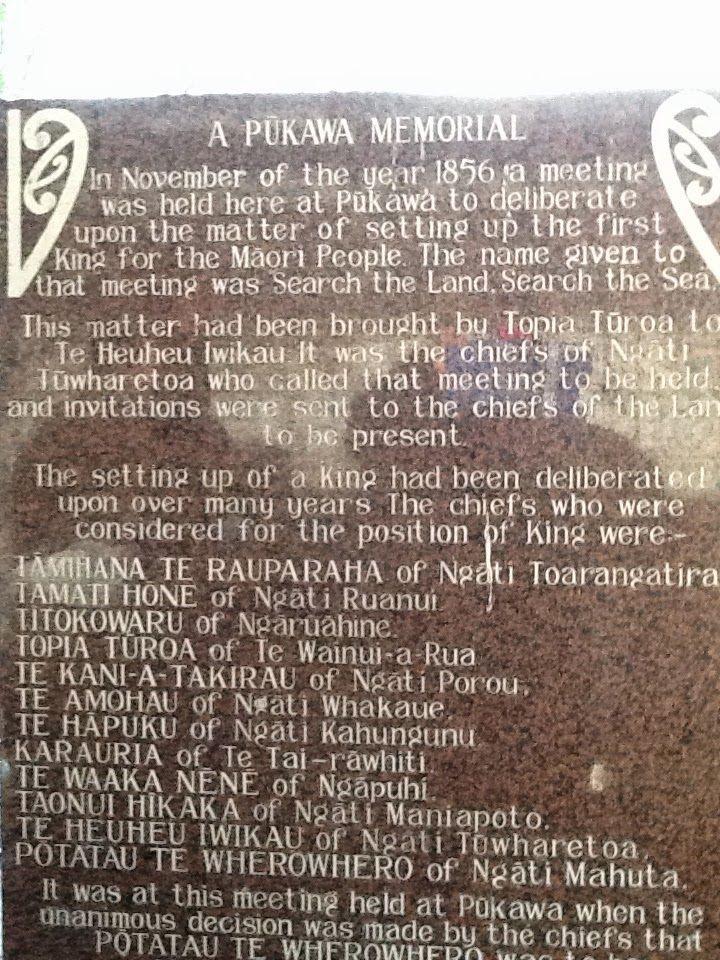 Maori King Memorial