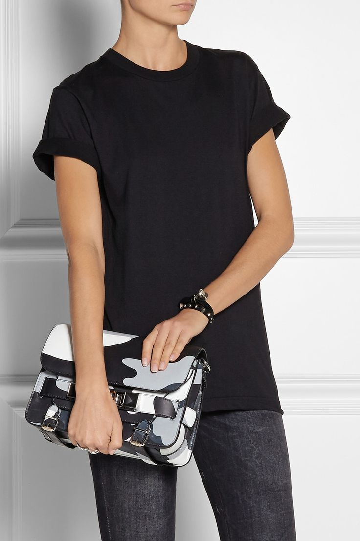 Proenza Schouler | The PS11 Classic camouflage-print leather shoulder bag | NET-A-PORTER.COM