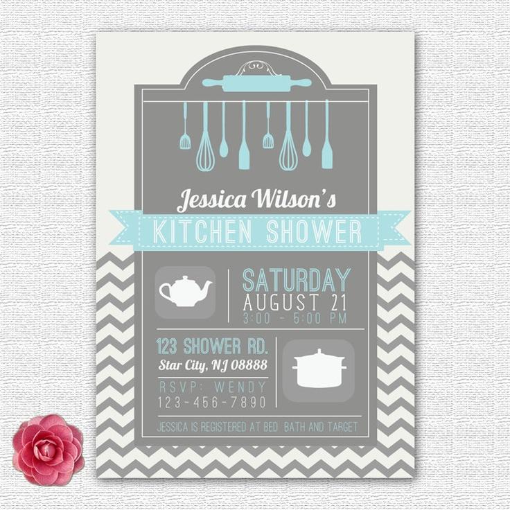 Bridal / Kitchen / Wedding Shower Invitation