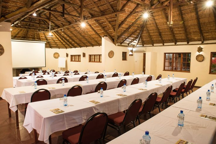 Conference facilities available for small and large groups. Full day and half day including refreshments, lunch and/or dinner. #SefapaneMagic