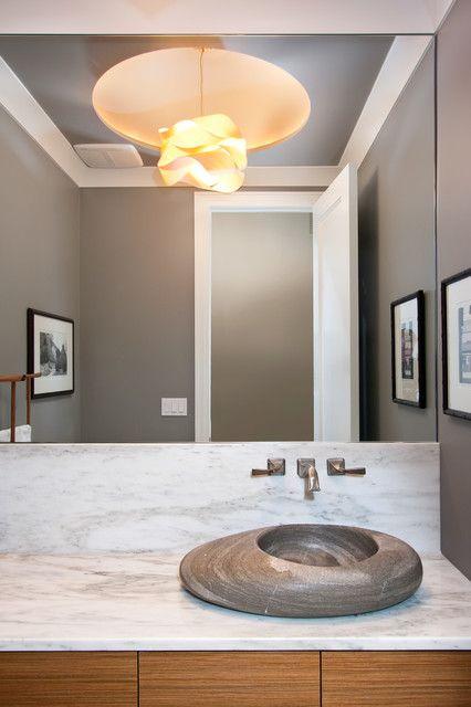Gallery For Photographers  Modern Powder Room Design Ideas