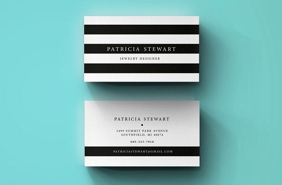 Premium Business Card template by Blank Studio on @creativemarket
