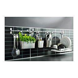 IKEA - FASTBO, Painel de parede, Protege a parede contra a sujidade e facilita a limpeza.Resistente ao calor, água, gordura e sujidade, podendo ser colocado na parede atrás da bancada de cozinha e da placa de fogão (exceto se for a gás).