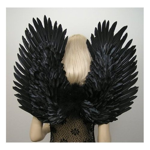 Fallen Angel #Gothic Fairy Feather Wings