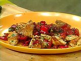 Chicken Scarpariello: One of my favorite, tried and true Rachael Ray recipes.  You must make the orzo that goes with it!