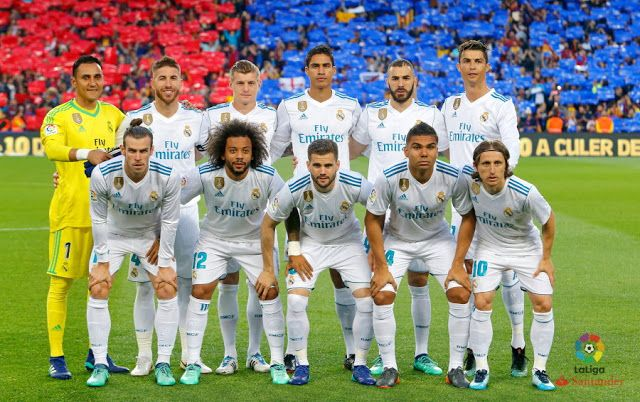 d0a614f1b REAL MADRID contra Barcelona 06 05 2018 Liga de 1ª División ...