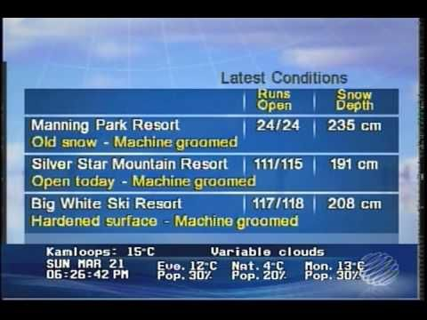 nice The Weather Network - Ski Conditions - 2010.03.21 - 18:26 Check more at http://sherwoodparkweather.com/the-weather-network-ski-conditions-2010-03-21-1826/