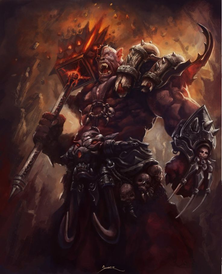 842 best ORCS... images on Pinterest | Fantasy characters ...