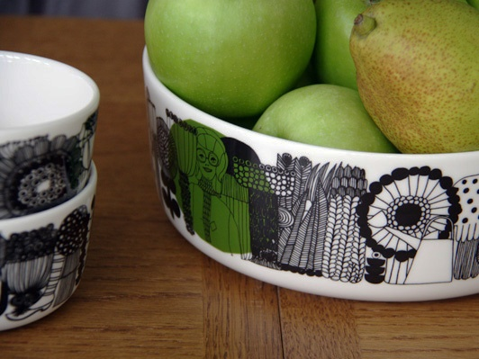 Starting a new collection: Marimekko tableware
