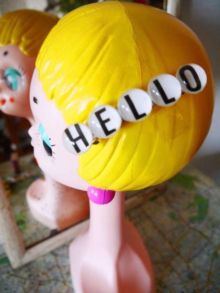 Japan Tokyo Harajyuku Kawaii Fashion Cute HELLO Hair accessories Kyarypamyupamyu #Japanesebrand