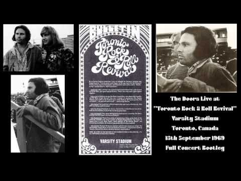 "The Doors Live at ""Toronto Rock & Roll Revival"" Varsity 1969 Full Concert Stadium Toronto (Canada) - YouTube"