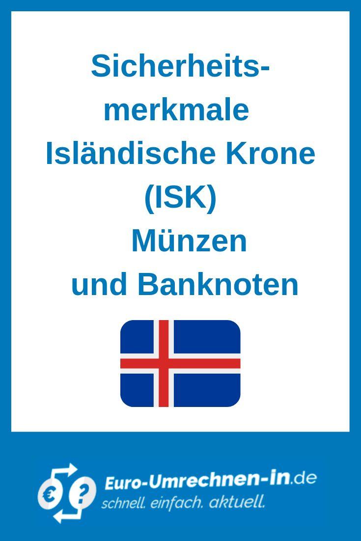 Sicherheitsmerkmale Der Islandischen Wahrung Umrechnen Geographisch Umrechnungstabelle