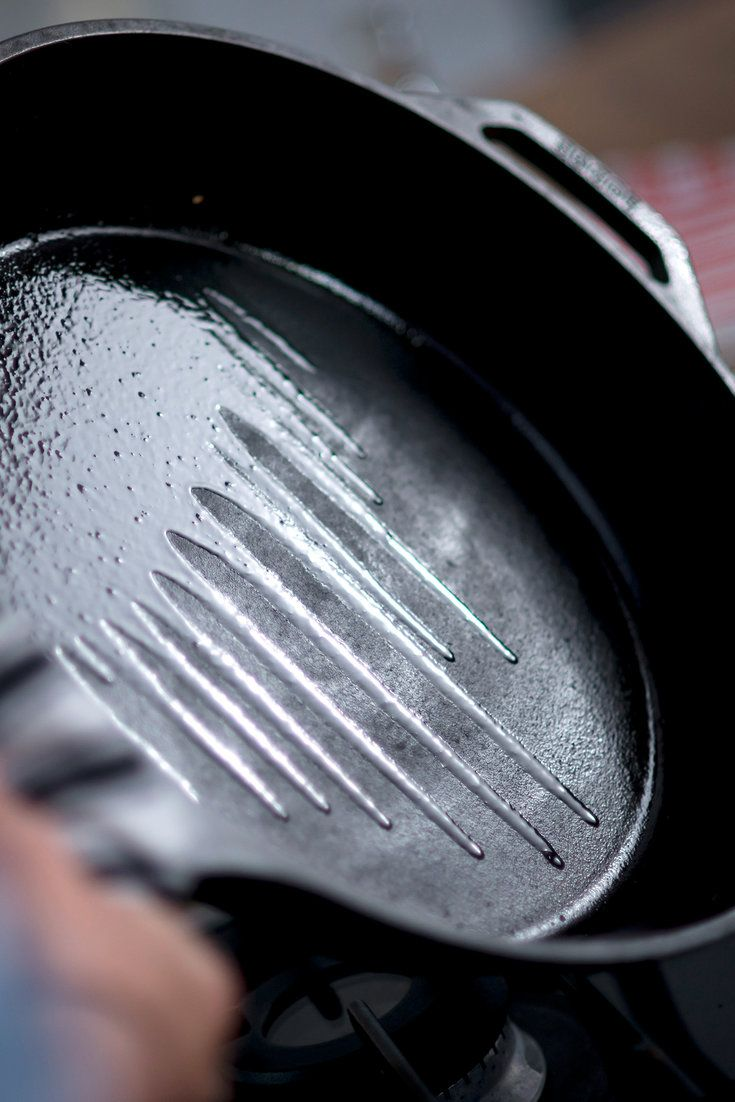 A cast-iron pan is a new cook's best friend. You can use it to cook almost anything. It is heavy and holds heat well, making it ideal for both frying and simmering. You can even use it as a roasting pan in the oven. And like a great friend, it takes very little work to keep it happy. (Photo: Karsten Moran for The New York Times)