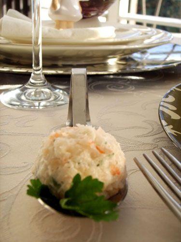 Закуска с креветками и кремчизом. / Рецепты блюд / РаботаемДома