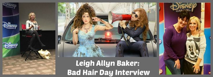 Leigh Allyn Baker: #BadHairDay Interview @L_A_Baker