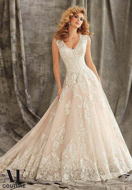 Af Couture A Division Of Mori Lee By Madeline Gardner 1344 Wedding Dress The