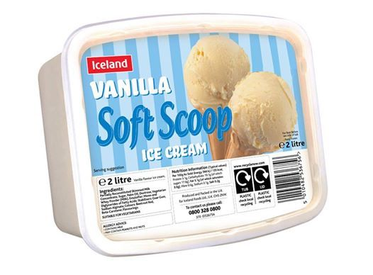 Iceland Vanilla Soft Scoop! Perfect for summer season <3