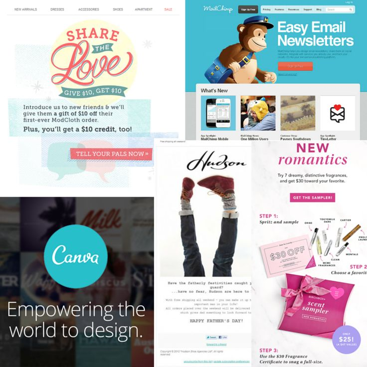 115 best Email marketing images on Pinterest Advertising - sample email marketing