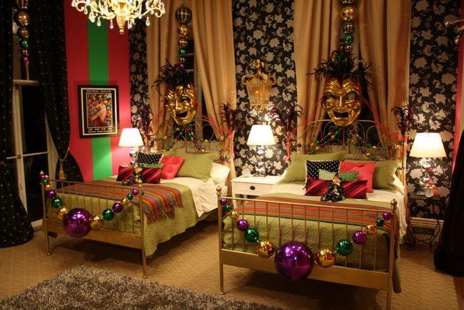 Image Detail For Mardi Gras Themed Bedroom Noelle Grimes