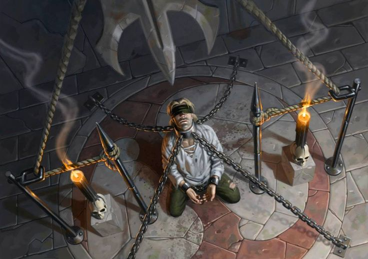Victimize – Eternal Masters MtG Art