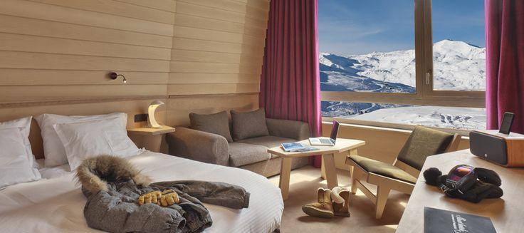 Altapura Val Thorens ***** | Business Hotel Val Thorens | Rooms - Altapura: 5-star hotel French Alpes Val Thorens 3 Valleys