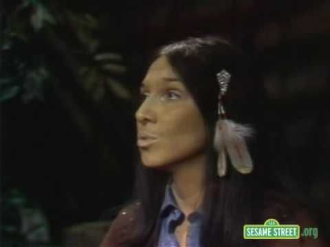 haunting and beuatiful...Sesame Street - The Moon (1975) Buffy St. Marie