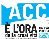 ACC//Tabloid della Casa della Creatività by Ilaria Marchi, via Behance