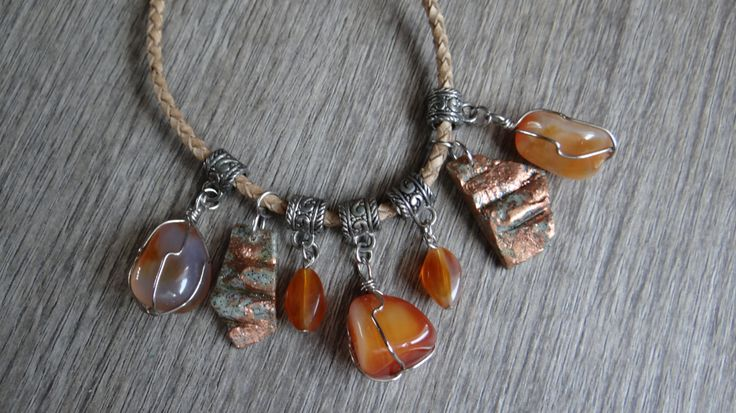 collana Stone Collection di HiSweety88 su Etsy