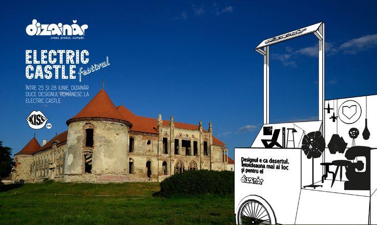 Dizainăr duce designul românesc la Electric Castle, la Cluj - Bonțida. În săptămâna 22-29 iunie 2015, magazinul din București este închis, însă ne vedem la Castel!