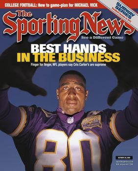 Cris Carter - My favorite Viking Player!!!  Hall of Fame 2013