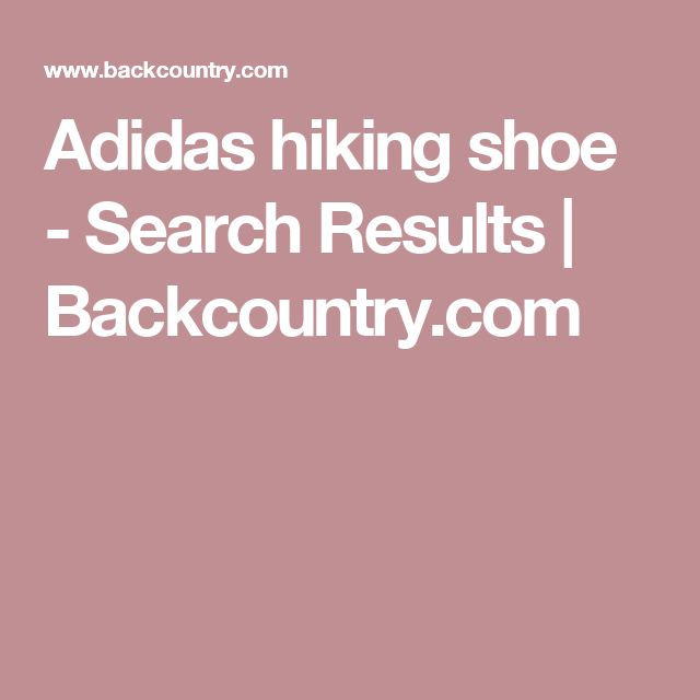 Adidas hiking shoe - Search Results | Backcountry.com