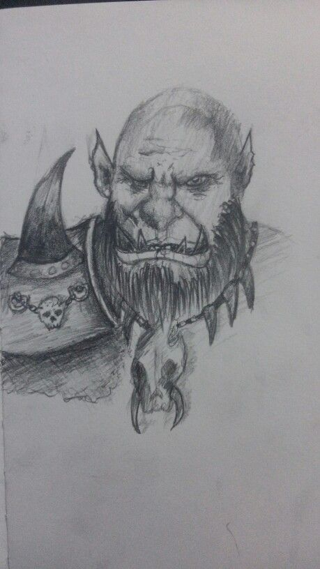 #orc #draw im beginner just try draw