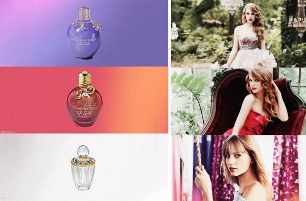 Taylor Swift perfumes. I have the Wonderstruck perfume stick. I want the entire set of any/all of her perfumes! And she has a new one coming out. I forget what it's called... Something about inspiration??