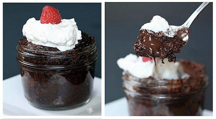 Risultati immagini per Brownie in tazza