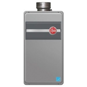 Water Heater Tankless Nat 11k 199k Btu Rheem Tankless